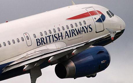 British Airways costa rica 1