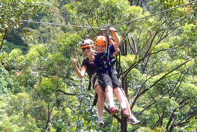 Diamante Eco Adventure Park zipline