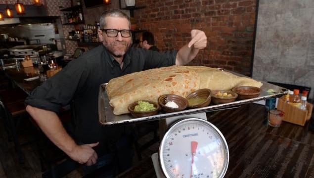 30 pound burrito don chingon 1