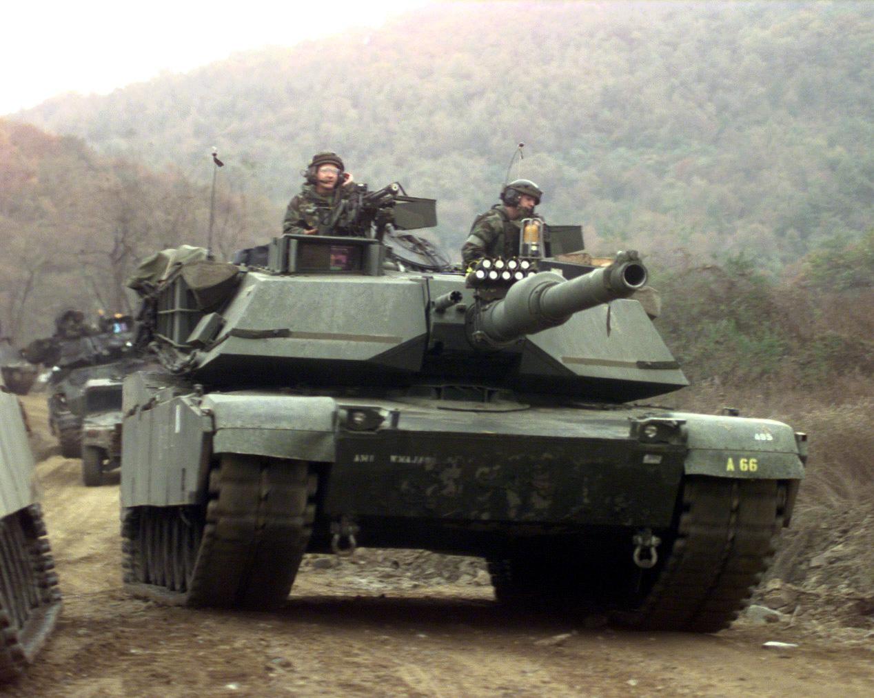 American M1A2 Abrams russia 1