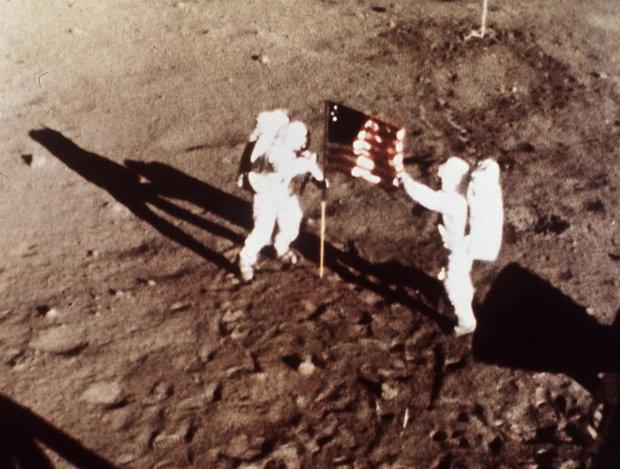 Apollo astronauts deep space radiation