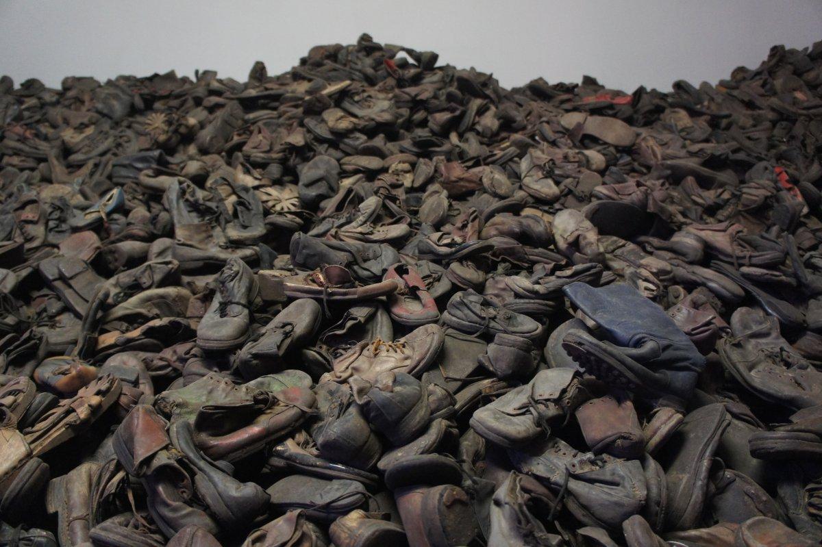 Auschwitz prison camp murder conviction 1
