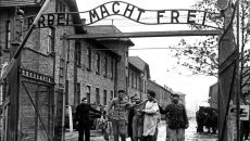 Auschwitz prison camp murder conviction