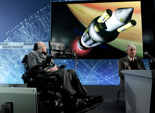 Stephen Hawking - 4/12/16
