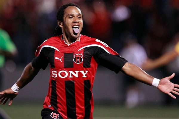 Costa Rican Striker Jonathan McDonald