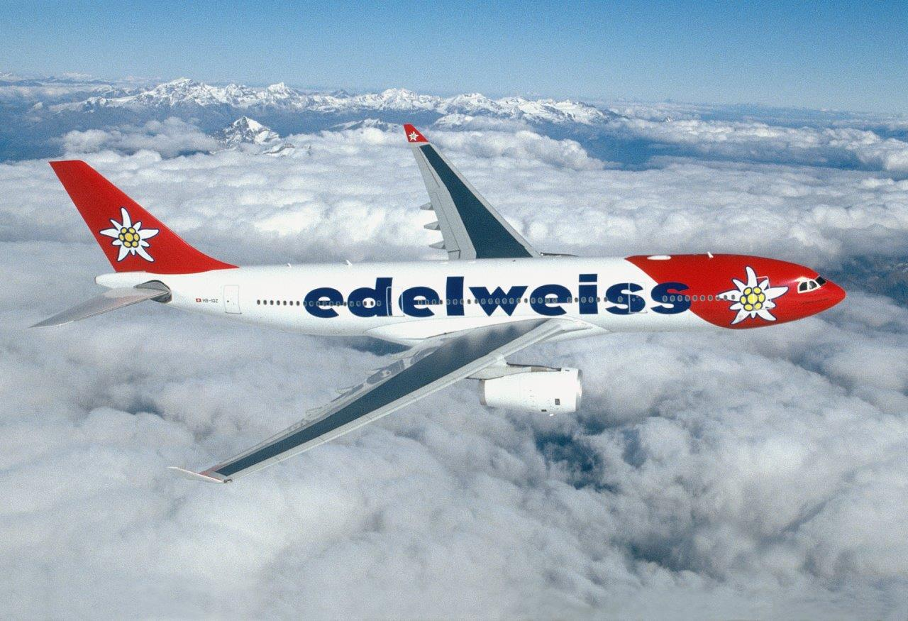 Edelweiss Airline flights to costa rica