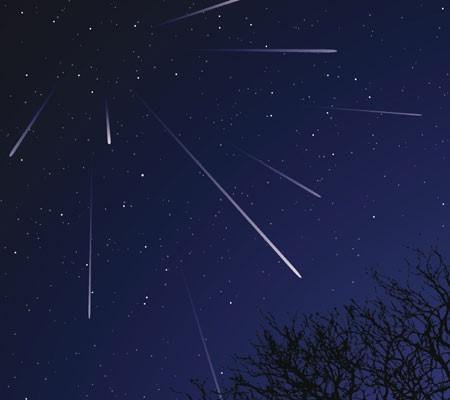 Geminids meteor shower costa rica