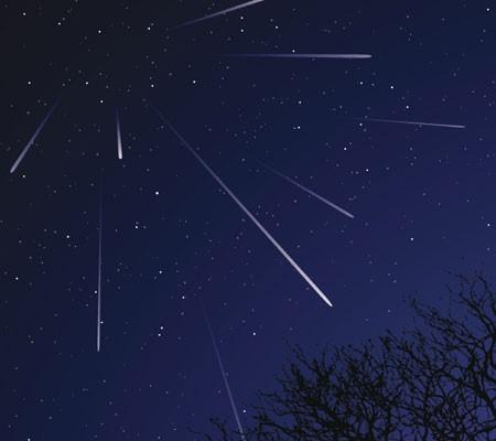 Geminids meteor shower costa rica