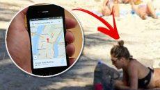 Google-Maps-bikini-clad-woman -Costa-Rica-beach-viral-pic