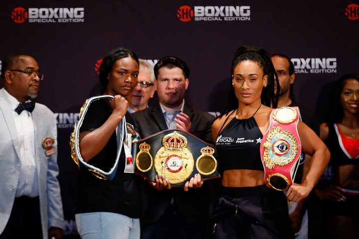 Claressa Shields Wins Unified Womens Middleweight Titles