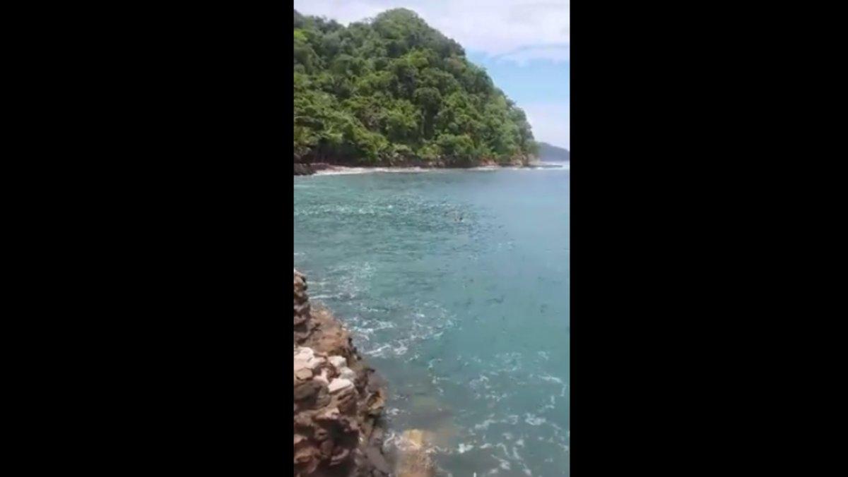 Lifeguard on Costa Rican Honeymoon