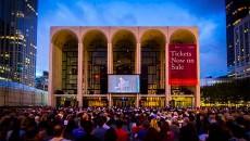 New York's Metropolitan Opera House main