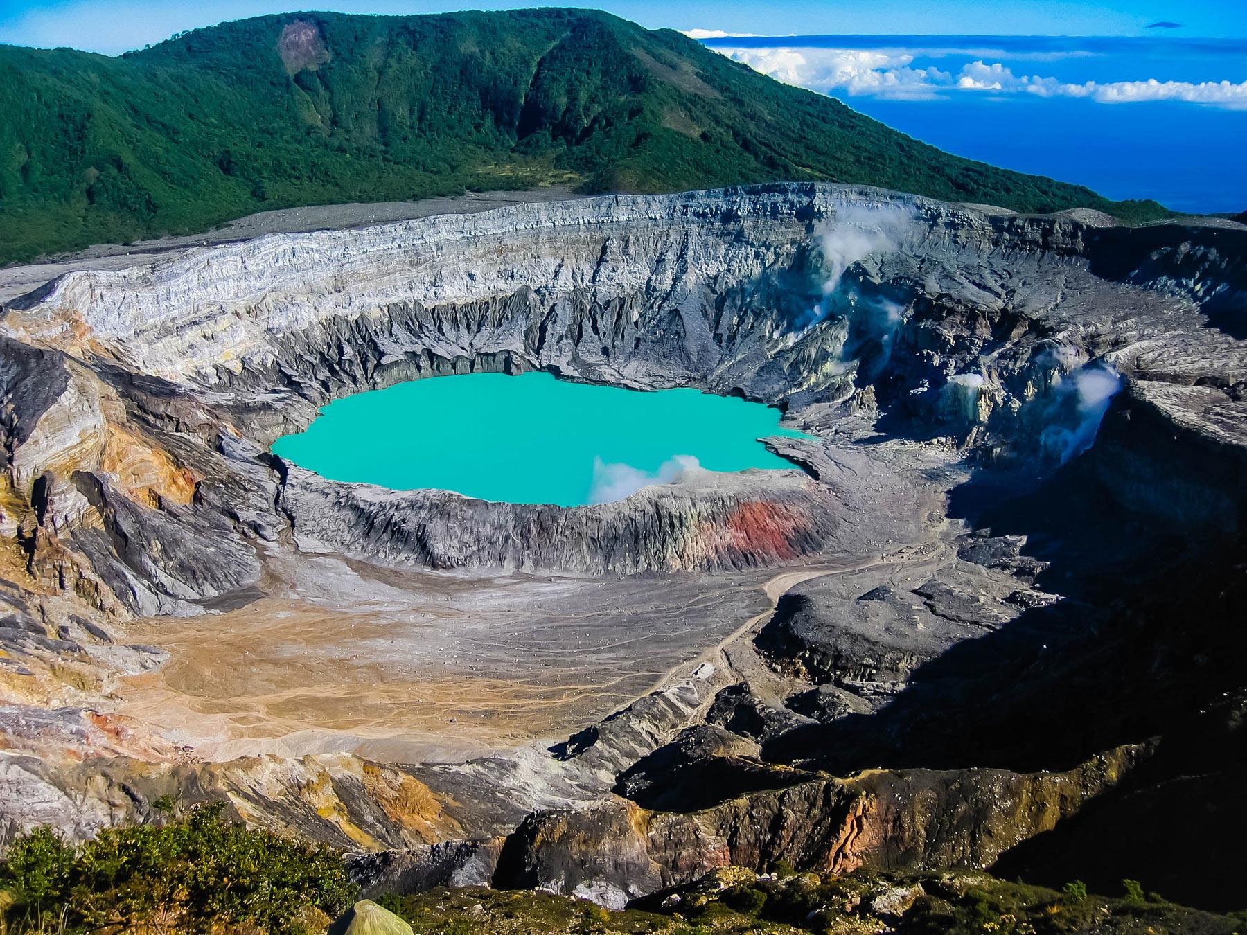 Poas Volcano Opening Again In Costa Rica
