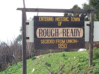 Rough and Ready california