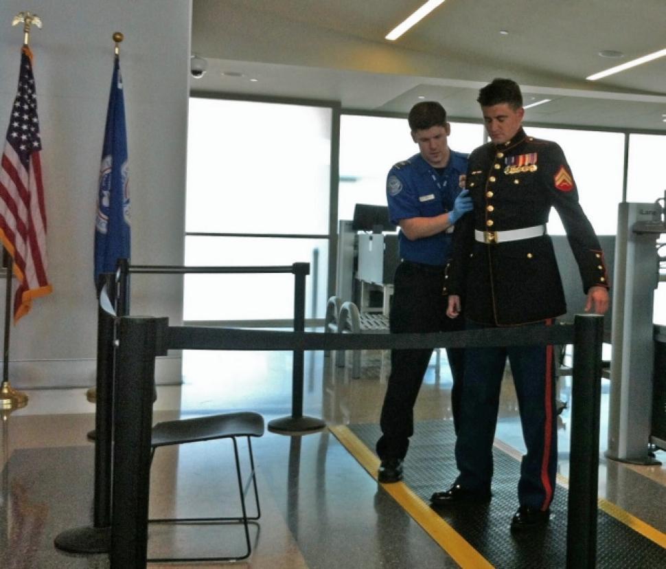 Sacramento airport security