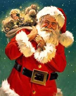 Santa bringing gifts to costa rica 1