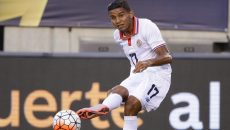 Soccer Player Johan Venegas costa rica main