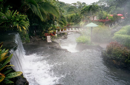 Tabacón Thermal Resort & Spa in Costa Rica