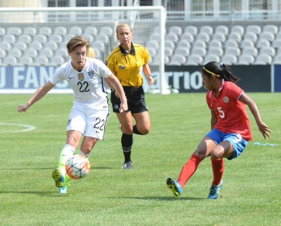 USWNT vs. Costa Rica Olympic Soccer Qualifier