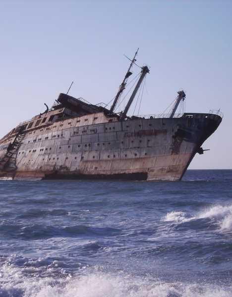 abandoned cruise ship walking dead