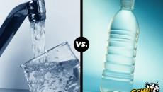 bottled water versus tap water main