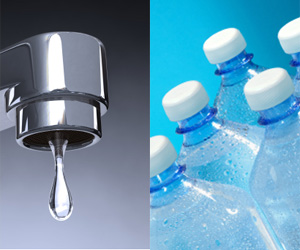 bottled water versus tap water