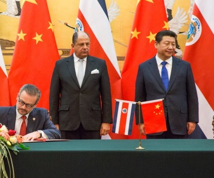 china buys costa rica
