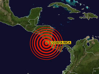 Costa Rica's Strongest Earthquake in 2016 & Volcanic Activity ...