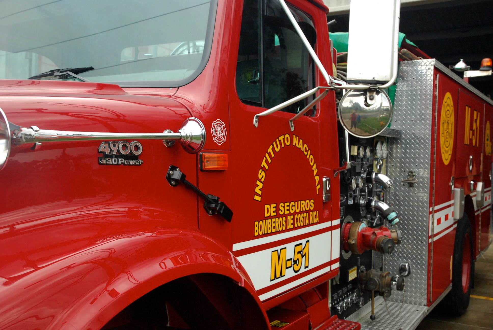 costa rica fire engine 1