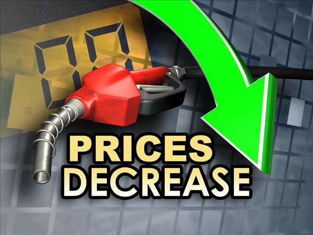 costa rica gas price decrease