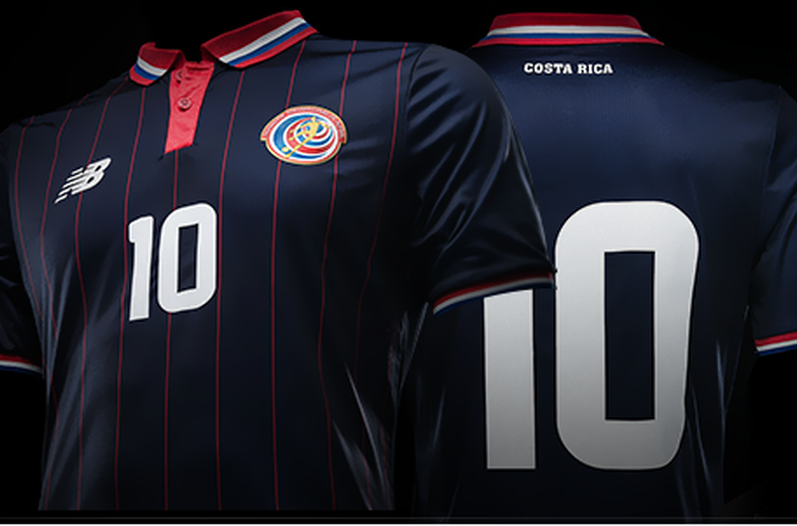 costa rica soccer uniform