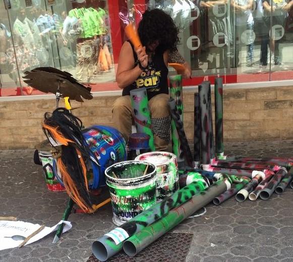 costa rica street musicians