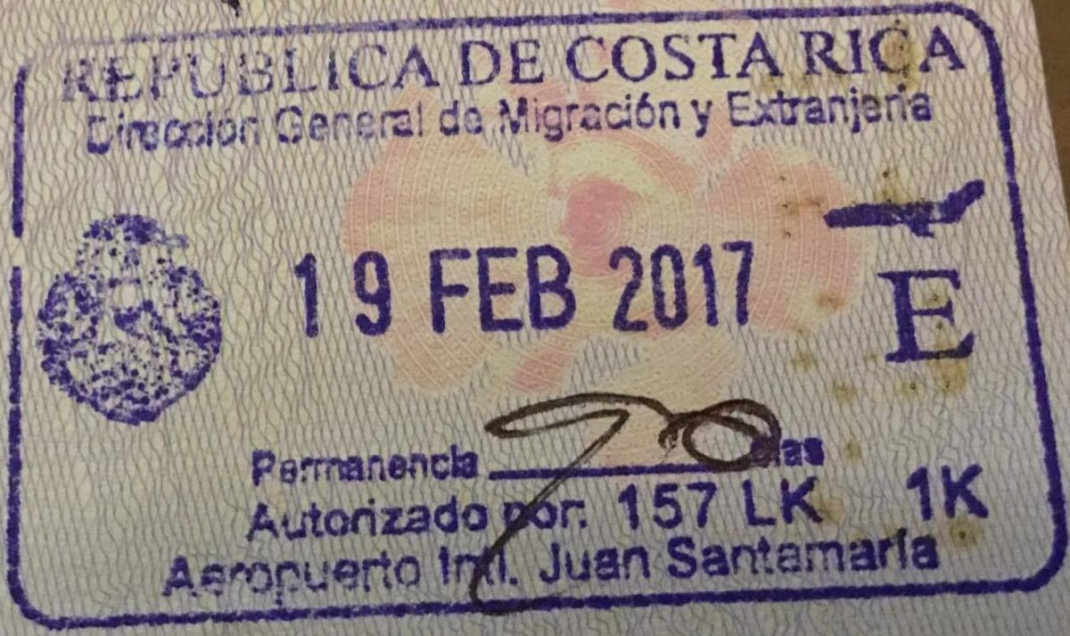 Stay Over Your Visa Be Fined In Costa Rica The Costa Rican Times