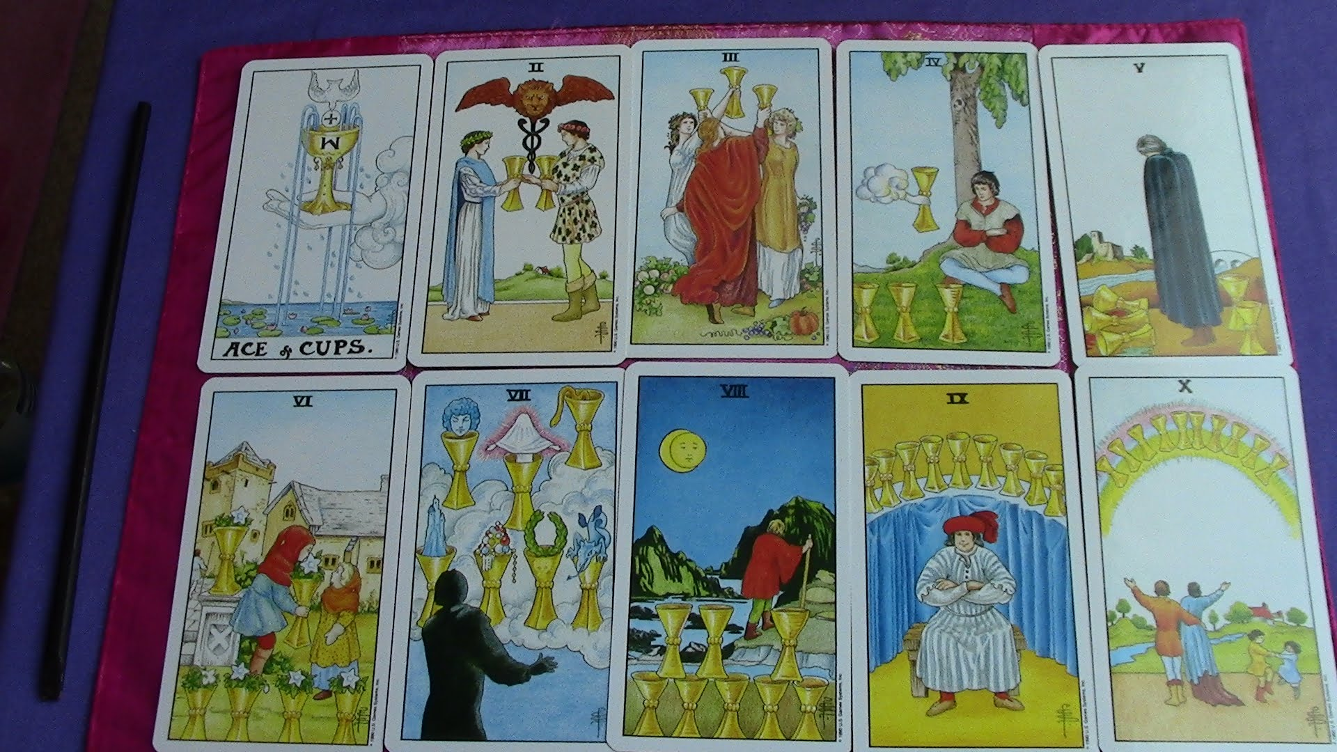Seven Shadows - Cups of the Tarot | The Costa Rican Times