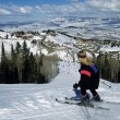 deer valley ski resort utah snowboarding