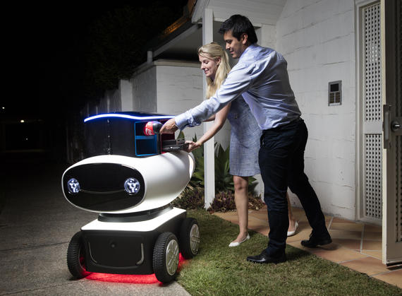 dominos robot pizza delivery 1