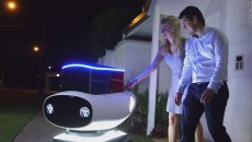 dominos robot pizza delivery