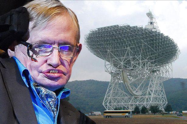 extraterrestrial life stephen hawking