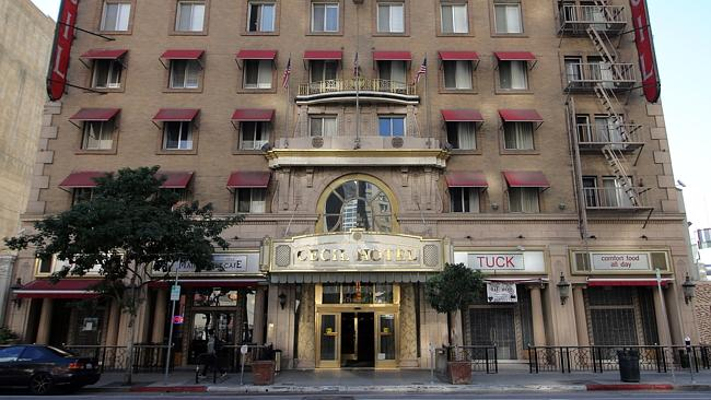 haunted cecil hotel los angeles