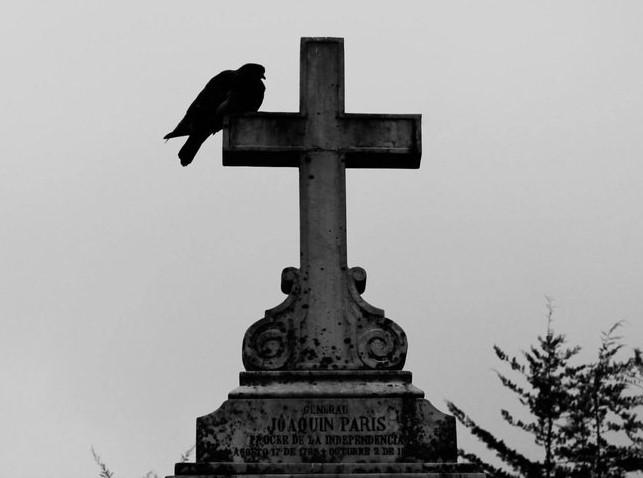 haunted cemetary