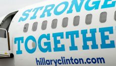 hill force one hillary clinton