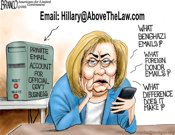 hillary clinton email server FBI charges 1