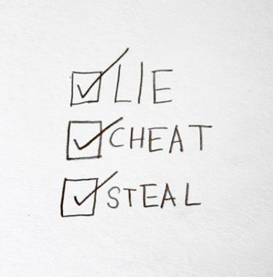 lie cheat steal costa rica