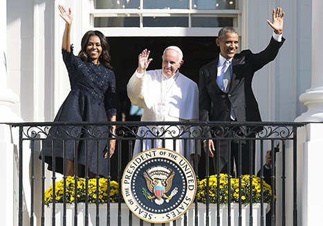 pope francis white house