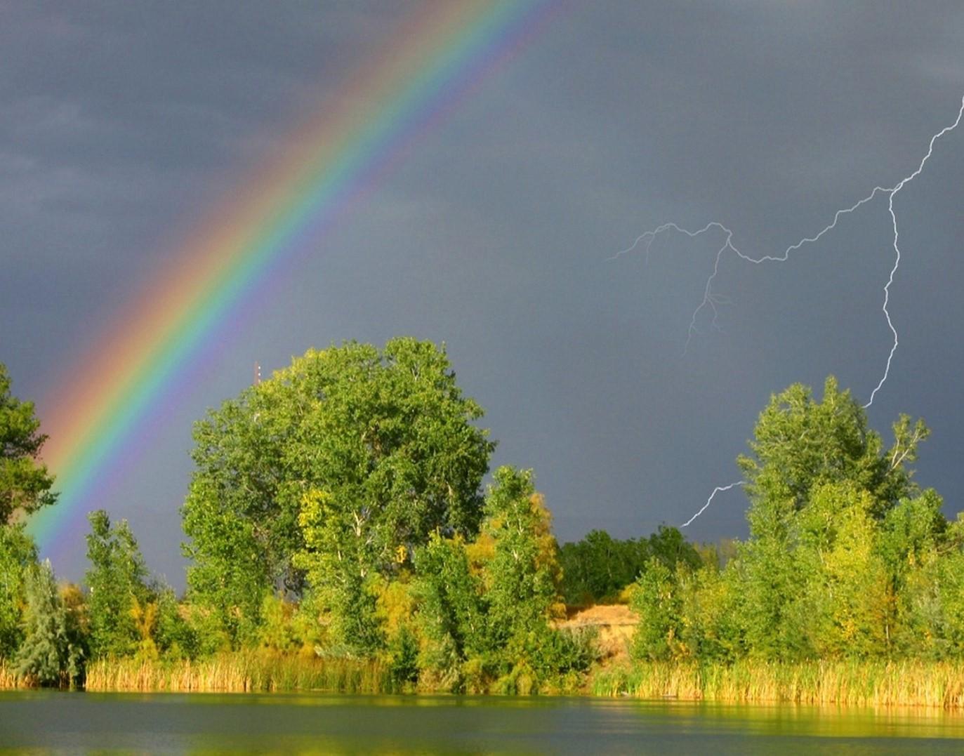 rainbow after rain 1