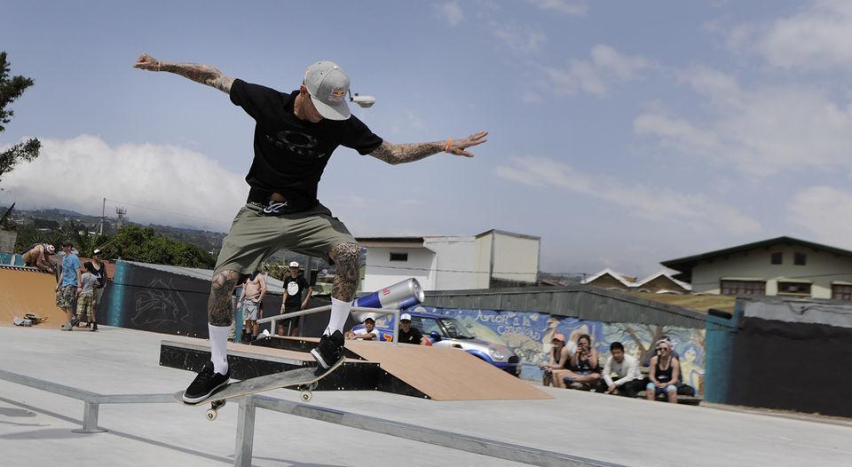 Ryan Sheckler Foundation Donates Skate Park to Costa Rica ...