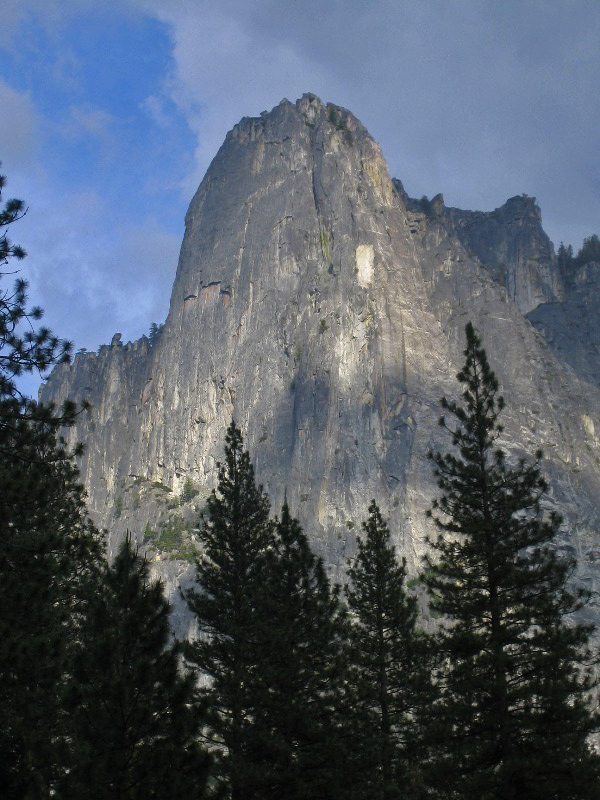 sentinel rock in the upper park