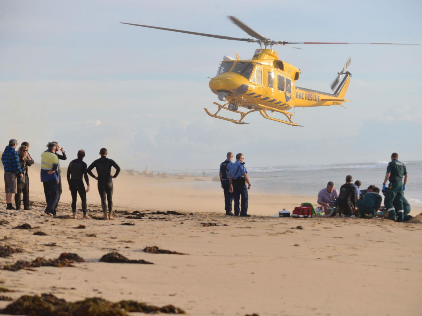 Man dies days after being bitten by shark off west Australia