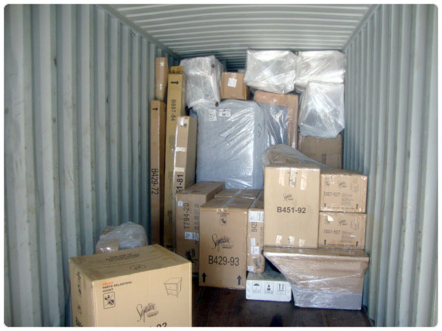 shipping to costa rica household goods container