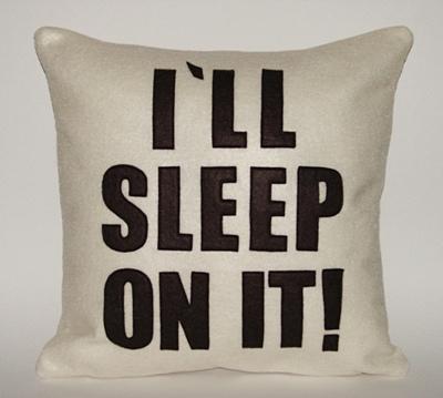 sleep on it decision making